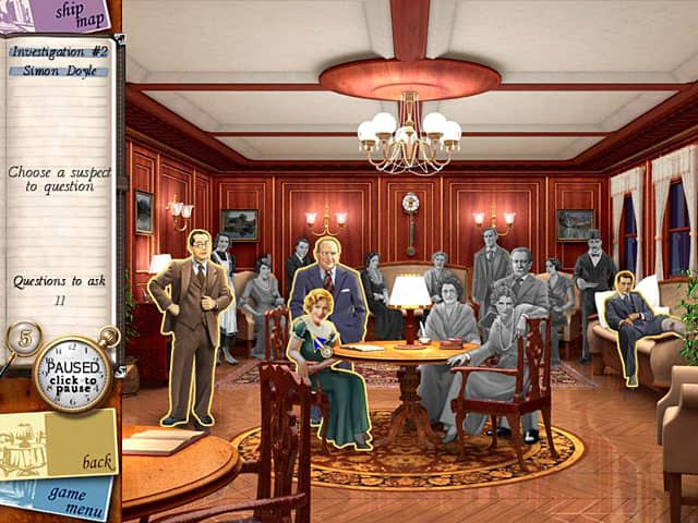 Top Hidden Object Mystery Games - Death on the Nile