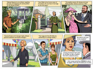 Agatha Christie Poirot Dead Mans Folly Game - Screenshot