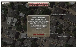Crime Line A Novel Murder Screenshot - Collect Witness Statements