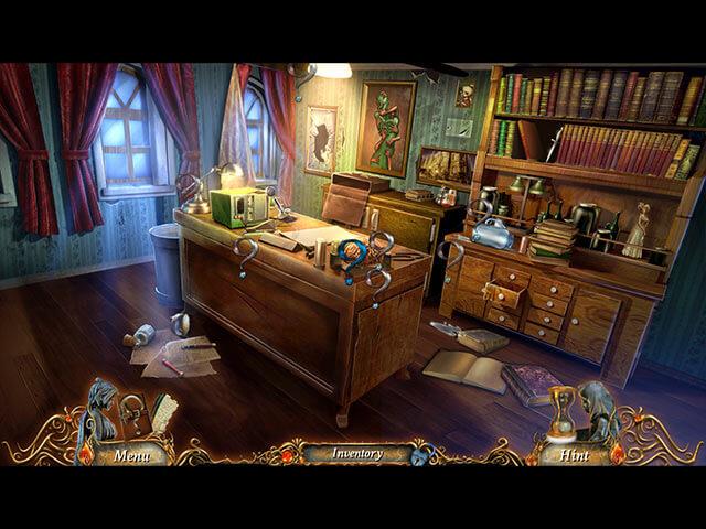 New Hidden Object Mystery Games September 2014 - 9 Clues The Ward - Screenshot 2