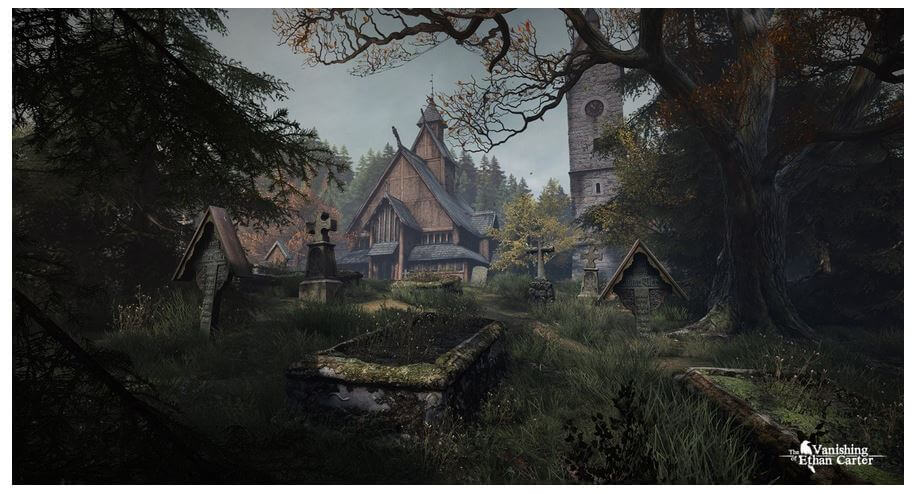 New Detective PC Games 2014 - The Vanishing of Ethan Carter - Eerie Mysterious Adventure