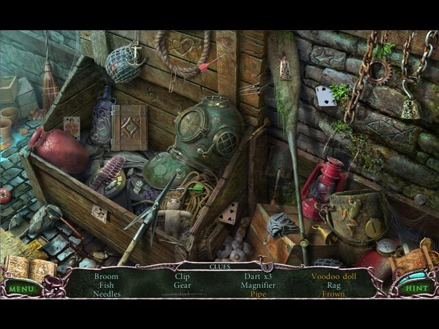 Mystery of the Ancients Curse of the Black Water - Hidden Object Scene