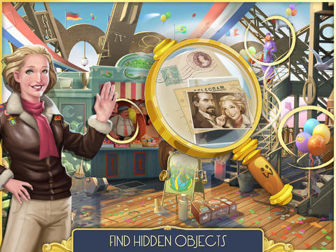 Pearls Peril - Hidden Object Game on iPad
