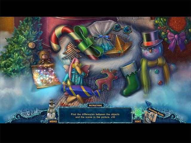 Christmas Mystery Hidden Object Game - Christmas Eve