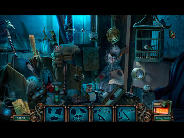 Detective PC Games - Haunted Hotel 7 - Silhouette Hidden Object Game
