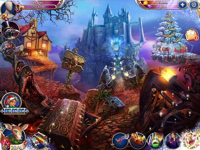 Mystery PC Games December 2014 Midnight Castle Christmas Update