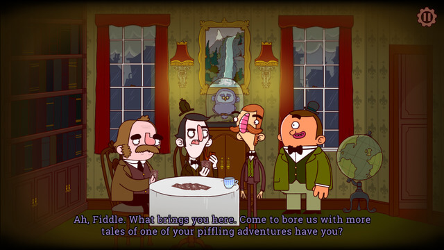 New Detective Games for iPad and iPhone - Bertram Fiddle Episode 1