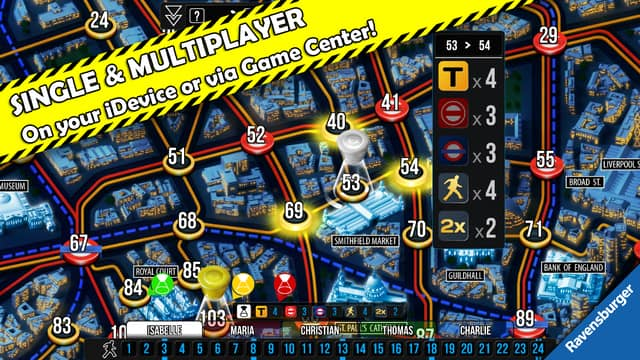 New Detective Game Updates Jan 2015 - Based on the Scotland Yard Board Game