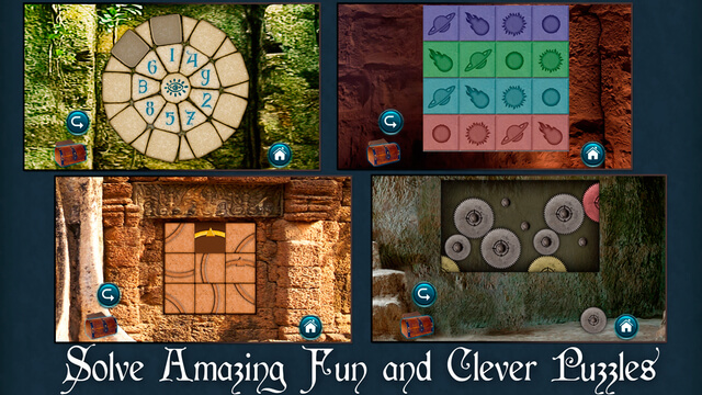 New Mystery Games for Android iOS and Kindle Fire - the Lost Fountain Puzzles Screenshots