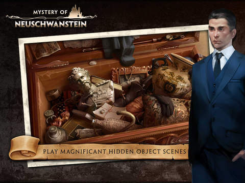 New Mystery Hidden Object Games for Android and iOS - Mystery of Neuschwanstein