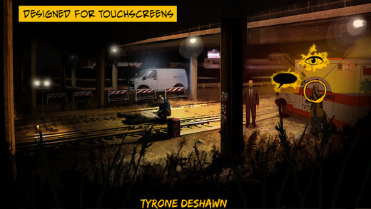 New iOS Detective Games Feb 2015 - The Detail Episode - Designed for Touchscreens