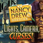 Top 10 Best Nancy Drew Games - 9. Lights Camera Curses Full Version for PC