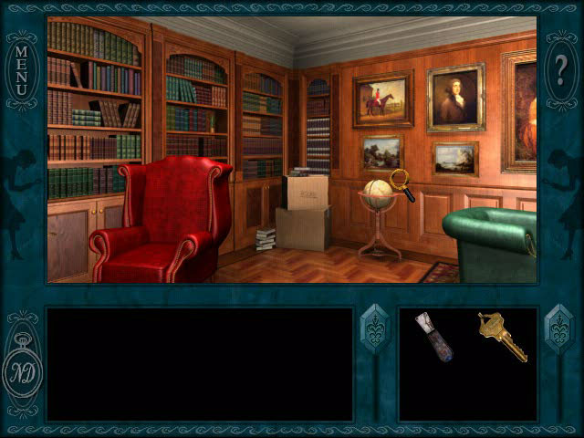 Top 10 Best Nancy Drew Games List - Message in a Haunted Mansion Screenshot