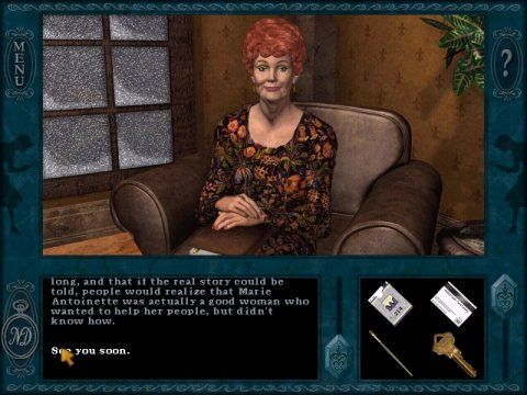Top Nancy Drew Games - Treasure in the Royal Tower - Screenshot