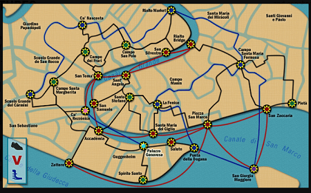 Top 10 Best Nancy Drew Games List - #1 Phantom of Venice - Screenshot 1 - Map