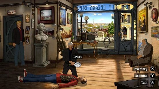 Broken Sword Games V. The Serpent's Curse Remastered for Nintendo Switch Sept 2018